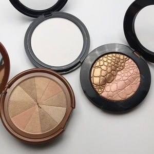 3 piece Blush Bronzer Finishing Powder Set